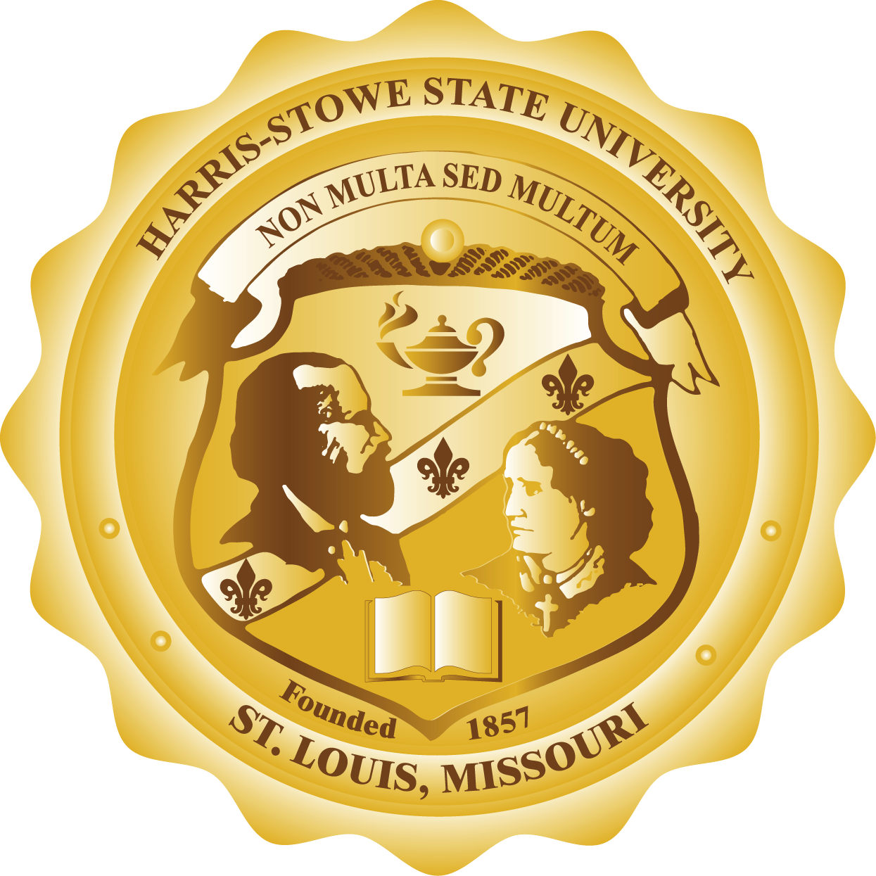 Gold badge png : Harris stowe state university: the office of institutional advancement
