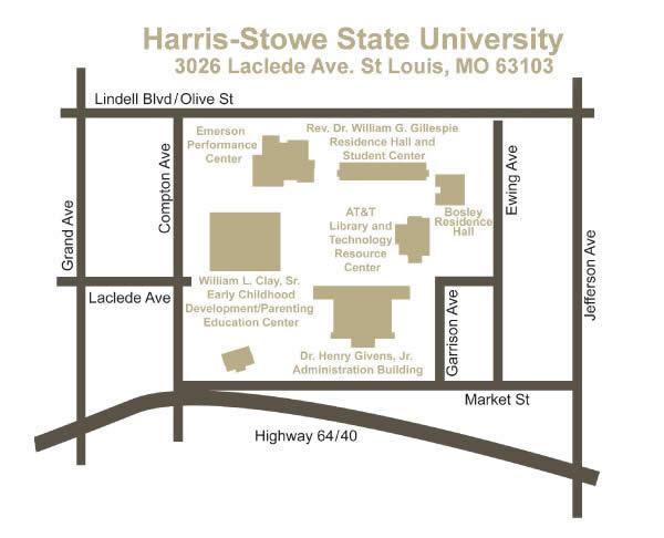 Harris-Stowe State University: HSSU Campus Map & Directions